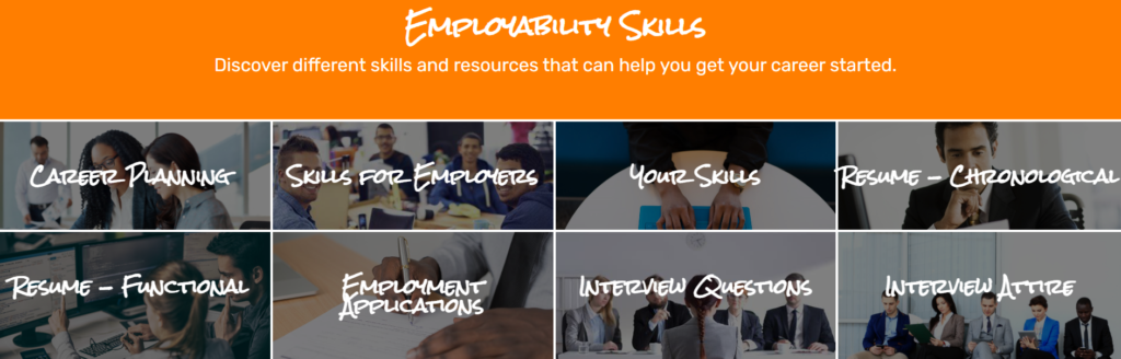 Discover different skills and resources that can help you get your career started.